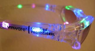 VMworld 2009 VCP4 LED glasses