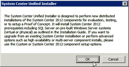 Unified installer for poc only